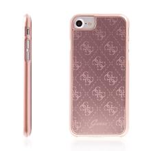 Kryt GUESS 4G Aluminium pro Apple iPhone 7 / 8 - růžový