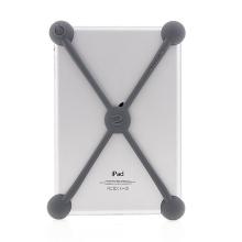 Nárazuvzdorné silikonové koule chránící Apple iPad mini / mini 2 / mini 3 - šedé