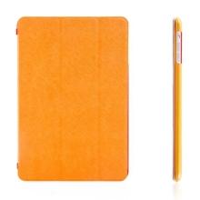 Tenké ochranné pouzdro se Smart Coverem pro Apple iPad mini / mini 2 / mini 3 - oranžové