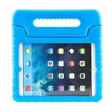Ochranné pěnové pouzdro pro děti na Apple iPad Air 1.gen. s rukojetí / stojánkem - modré