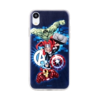 Kryt MARVEL pro Apple iPhone Xr - Avengers - gumový