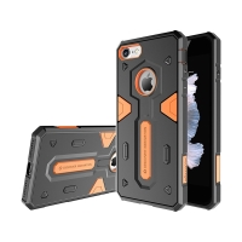 Kryt Nillkin pro Apple iPhone 7 / 8 - odolný - plast / guma - oranžový / černý