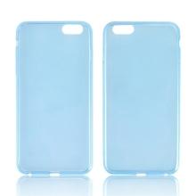 Ultra tenký gumový kryt pro Apple iPhone 6 Plus / 6S Plus (tl. 0,45mm) - hladký - modrý