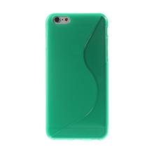 Kryt S line pro Apple iPhone 6 Plus / 6S Plus gumový protiskluzový - zelený