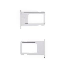 Rámeček / šuplík na Nano SIM pro Apple iPhone 6 Plus - vesmírně šedý (Space Gray) - kvalita A+
