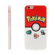 Kryt pro Apple iPhone 6 / 6S - plastový / gumový - Pokemon Go / Pokémon