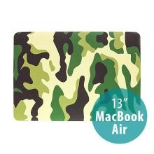 Plastový obal ENKAY pro Apple MacBook Air 13.3 - maskáč - zelený