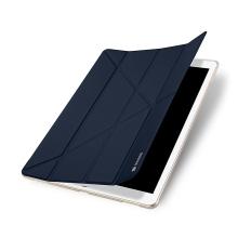 Pouzdro DUX DUCIS pro Apple iPad Pro 12,9 / 12,9 (2017) - funkce chytrého uspání + stojánek - tmavě modré