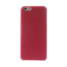 Ultra tenký plastový kryt pro Apple iPhone 6 (tl. 0,3mm) - matný - červený
