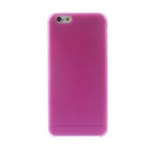 Ultra tenký plastový kryt pro Apple iPhone 6 (tl. 0,3mm) - matný - růžový