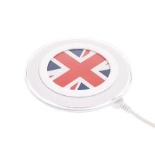 Bezdrátová nabíječka / nabíjecí podložka Qi Standard - vlajka UK