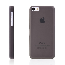 Ultra tenký ochranný kryt pro Apple iPhone 5C (tl. 0,3 mm) - plastový - matný - černý
