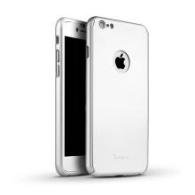 Kryt IPAKY pro Apple iPhone 6 / 6S - celotělový - plastový - stříbrný