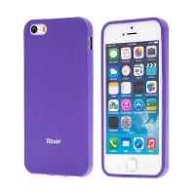 Kryt ROAR pro Apple iPhone 5 / 5S / SE - gumový - fialový