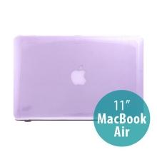 Tenký ochranný plastový obal pro Apple MacBook Air 11.6 - lesklý - fialový