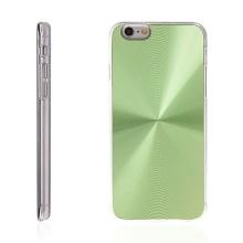 Plasto-hliníkový kryt pro Apple iPhone 6 / 6S - zelený