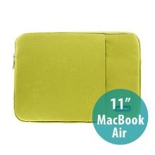 Pouzdro POFOKO se zipem pro Apple MacBook Air 11 - zelené