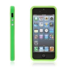 Ochranný rámeček / bumper pro Apple iPhone 5 / 5S / SE - zelený