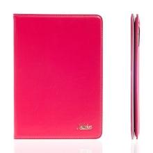 Pouzdro KAKUSIGA pro Apple iPad Air 2 flipové - stojánek a pásek na ruku růžové