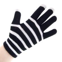 Rukavice pro ovládání dotykových zařízení - černo-bílé