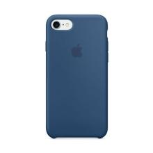 Originální kryt pro Apple iPhone 7 / 8 - silikonový - mořsky modrý