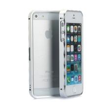 Rámeček / bumper pro Apple iPhone 5 / 5S / SE hliníkový - stříbrný