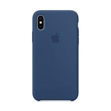 Originální kryt pro Apple iPhone X - silikonový - kobaltově modrý