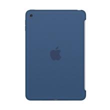 Originální kryt pro Apple iPad mini 4 - výřez pro Smart Cover - silikonový - mořsky modrý