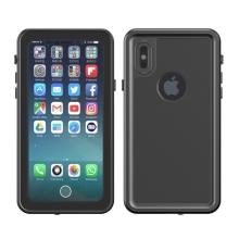 Pouzdro Redpepper pro Apple iPhone X - voděodolné - plastové - černé / průhledné