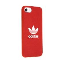 Kryt ADIDAS Originals pro Apple iPhone 6 / 6S / 7 / 8 - gumový - látkový - červený