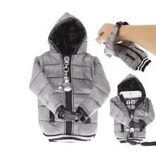 Ochranné pouzdro šedá bunda s kapucí se šňůrkou na krk pro Apple iPhone / iPod a podobná zařízení
