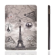 Pouzdro pro Apple iPad Pro 9,7 - integrovaný stojánek - Eiffelovka