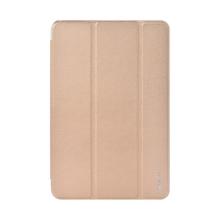 Pouzdro DEVIA pro Apple iPad mini 4 / mini 5 - funkce chytrého uspání + stojánek - zlaté