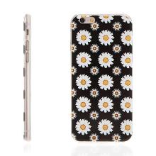 Tenký gumový kryt pro Apple iPhone 6 / 6S - květy