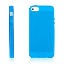 Kryt pro Apple iPhone 5 / 5S / SE - gumový - modrý