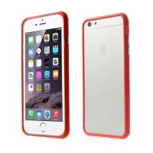 Plasto-gumový rámeček / bumper pro Apple iPhone 6 Plus / 6S Plus - červený
