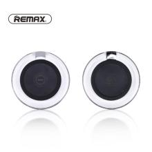 Bezdrátová nabíječka / nabíjecí podložka Qi REMAX - svíticí - plastová - černá / průhledná