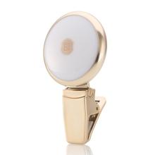 LED selfie světlo REMAX pro Apple iPhone - zlaté