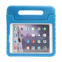 Pouzdro pro děti pro Apple iPad Air 1 / Air 2 / 9,7 (2017-2018) - rukojeť / stojánek - pěnové - modré