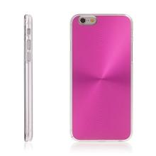 Plasto-hliníkový kryt pro Apple iPhone 6 / 6S - růžový