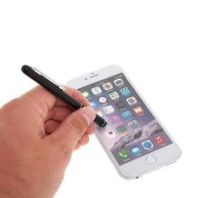 Kovové dotykové pero / stylus pro Apple iPhone / iPad / iPod - černé