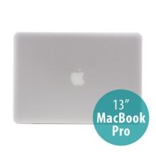 Tenký ochranný plastový obal pro Apple MacBook Pro 13 (model A1278) - matný - bílý