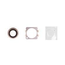Krycí sklíčko zadní kamery Apple iPhone 6 / 6S - zlaté (Gold) - kvalita A+