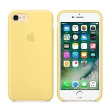 Originální kryt pro Apple iPhone 7 / 8 - silikonový - slunečnicově žlutý