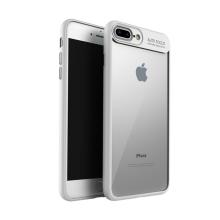 Kryt IPAKY pro Apple iPhone 7 Plus / 8 Plus - plastový / gumový - průhledný / bílý