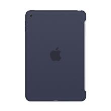 Originální kryt pro Apple iPad mini 4 - výřez pro Smart Cover - silikonový - půlnočně modrý