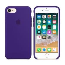 Originální kryt pro Apple iPhone 7 / 8 - silikonový - tmavě fialový