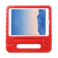 Ochranné pěnové pouzdro pro děti na Apple iPad Air 2 s rukojetí / stojánkem - červené