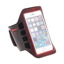 Sportovní pouzdro pro Apple iPhone 5 / 5C / 5S / SE - černo-červené