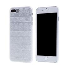 Kryt pro Apple iPhone 7 Plus / 8 Plus - plastový - průhledný / sloni